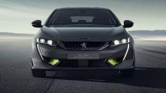 Nuova Peugeot 308: vista anteriore