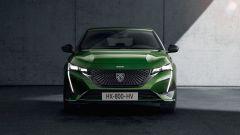 Nuova Peugeot 308: visuale frontale