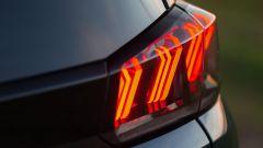 Nuova Peugeot 5008 2021, gruppo ottico posteriore