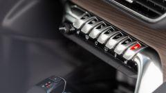 Nuova Peugeot 5008 2021, i tasti per richiamare i menu dell'infotainment