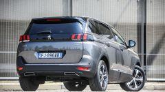 Nuova Peugeot 5008: coda verticale per aumentare lo spazio interno
