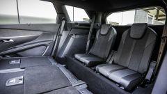 Nuova Peugeot 5008: in terza fila lo spazio è buono anche 2 adulti