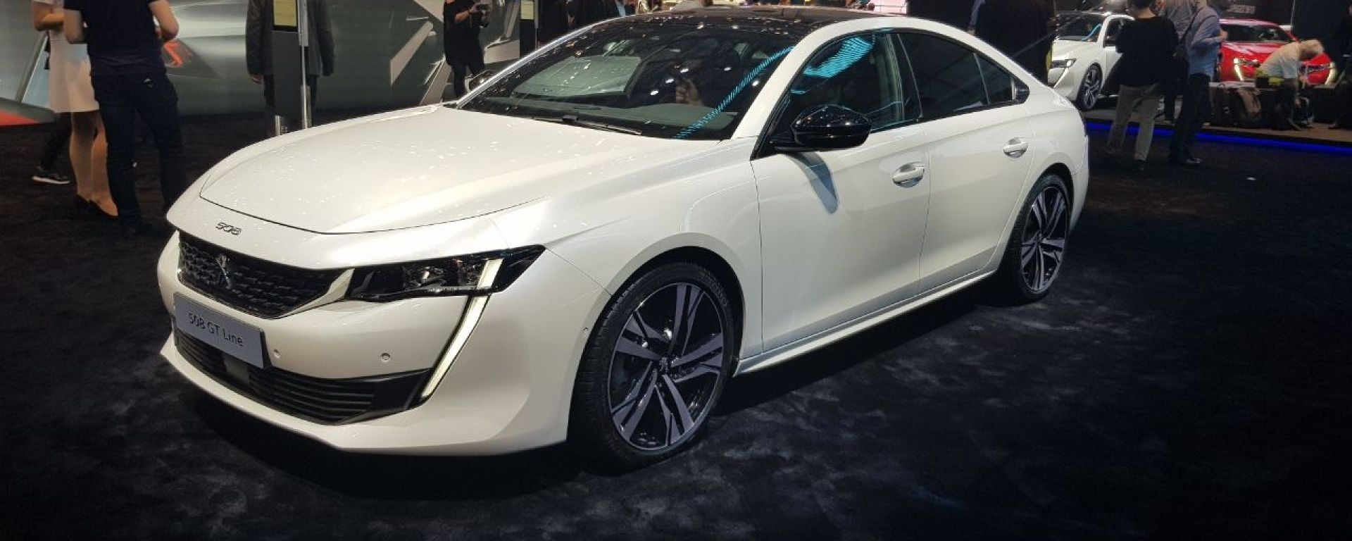 Nuova Peugeot 508: eccola in video