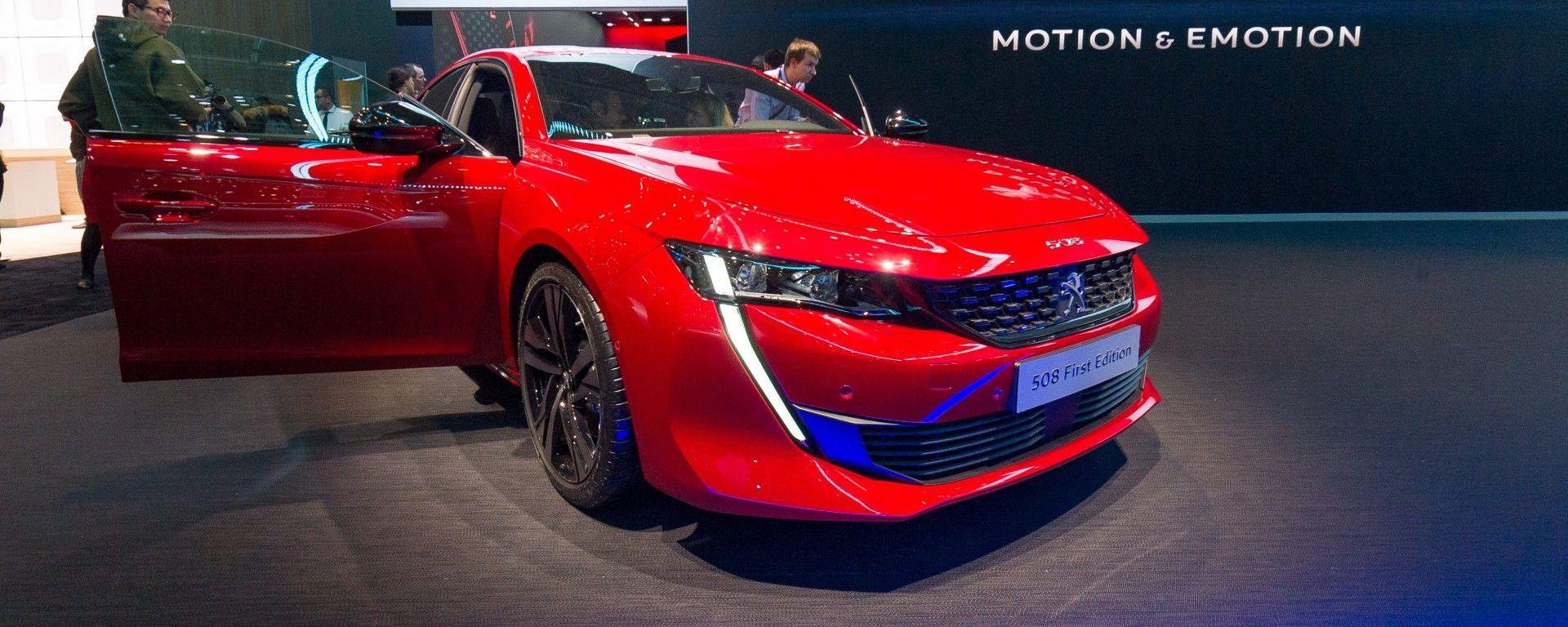 Nuova Peugeot 508 berlina