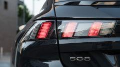 Nuova Peugeot 508 SW 2019 Allure: il fanale posteriore