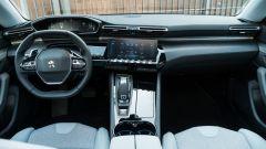 Nuova Peugeot 508 SW 2019 Allure: la plancia