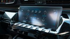 Nuova Peugeot 508 SW 2019 Allure: lo schermo dell'infotainment