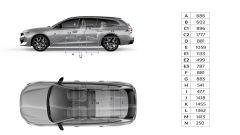 Nuova Peugeot 508 SW 2019: le misure interne