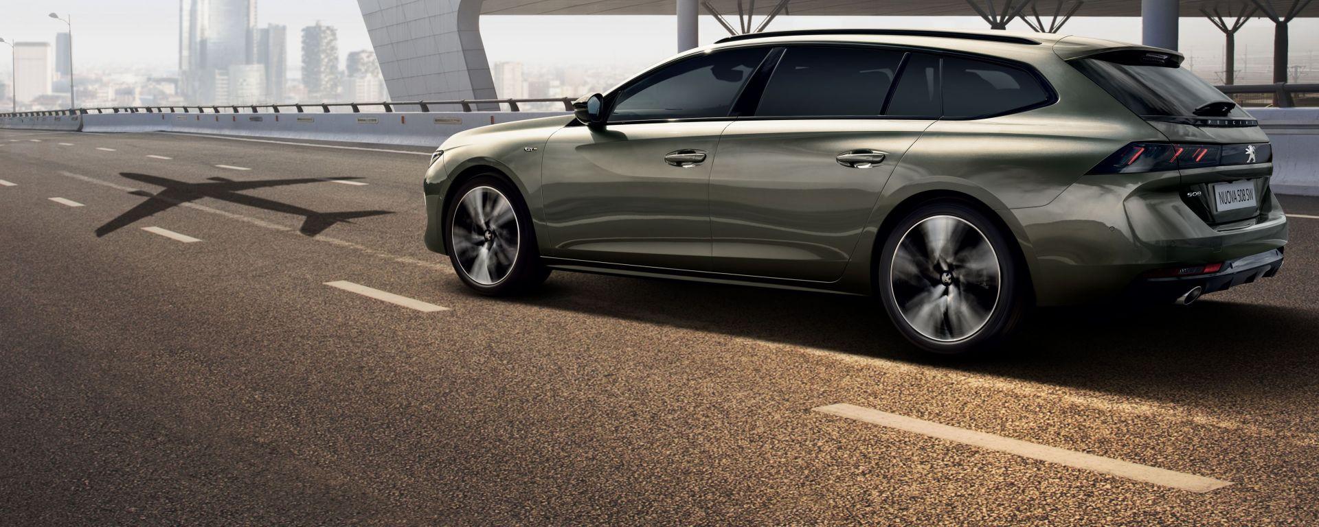 Nuova Peugeot 508 SW 2019