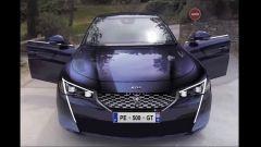 Nuova Peugeot 508: un rendering del possibile frontale