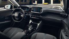 Nuova Peugeot e-208, gli interni