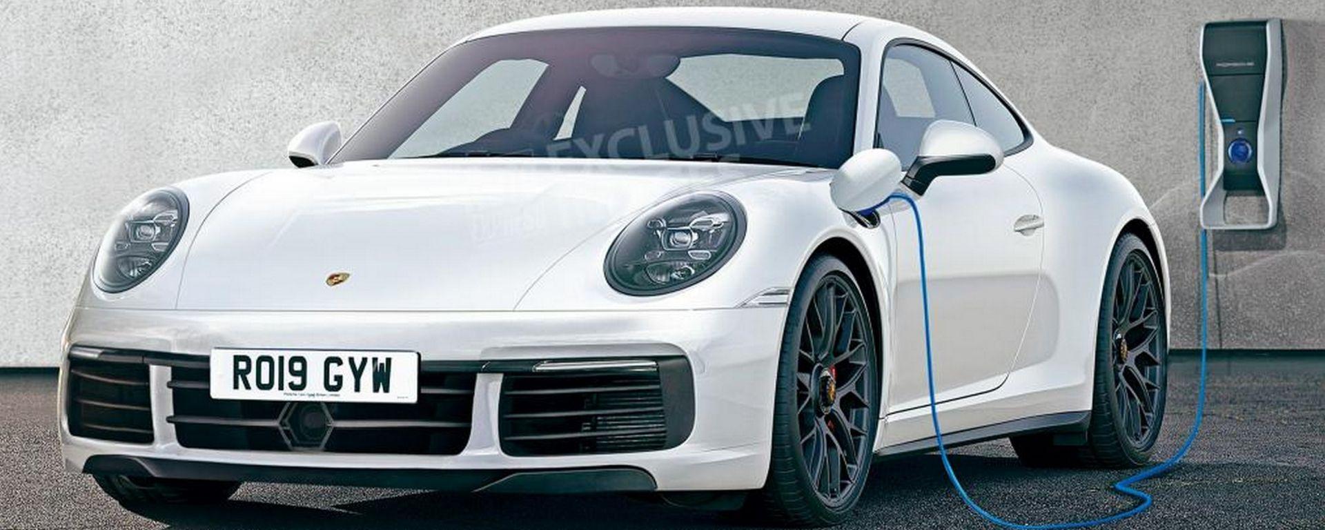 Nuova Porsche 911 2019: sarà anche ibrida