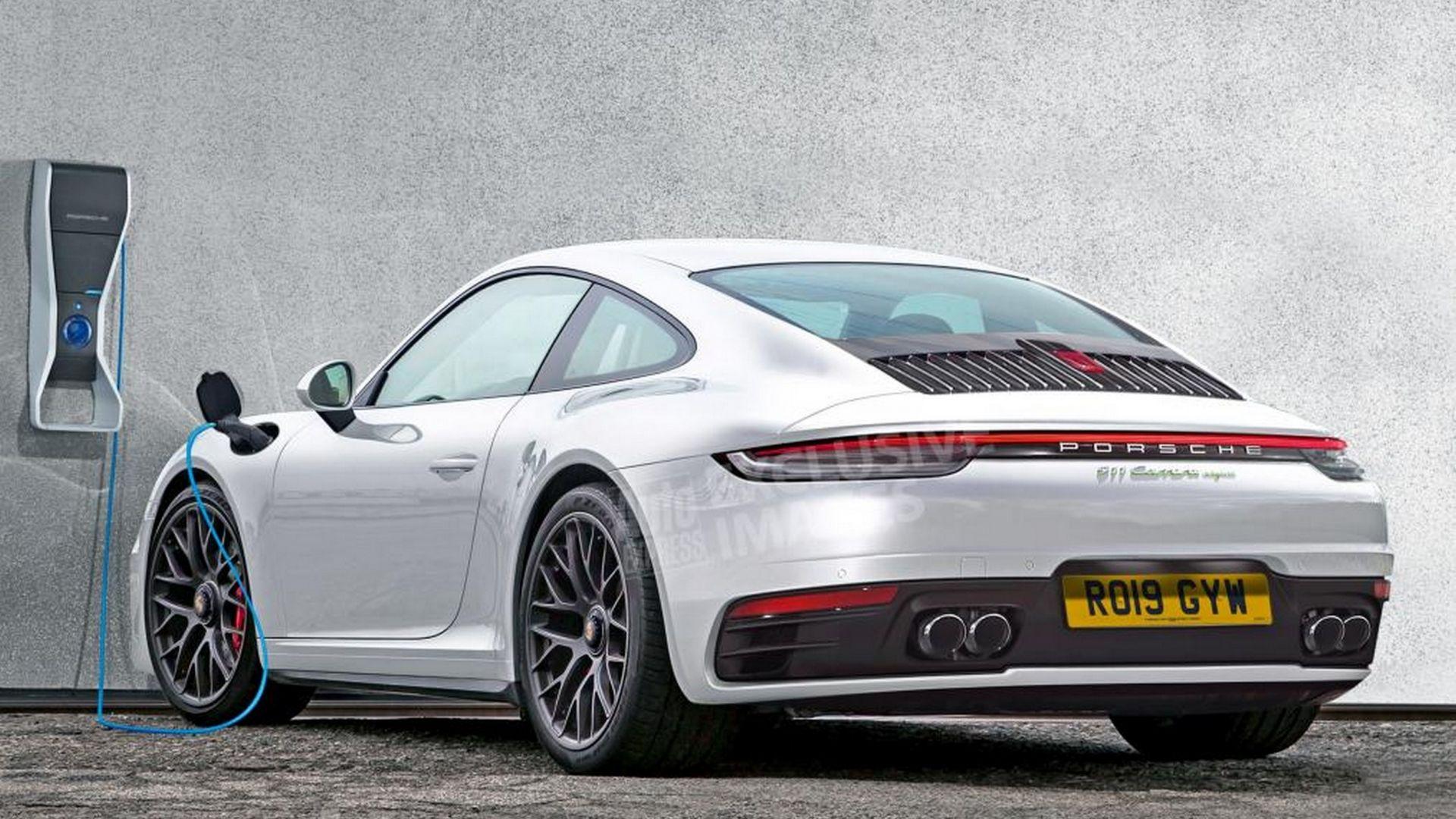 Nuova Porsche 911 2019 Scheda Tecnica Ibrida Plug In