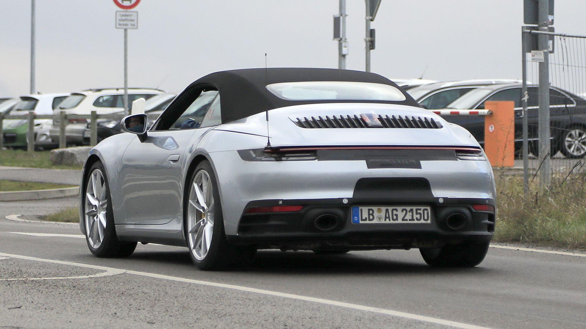 911 Targa 4S >> Nuova Porsche 911 992 Cabrio 2019: prezzi, uscita, immagini - MotorBox