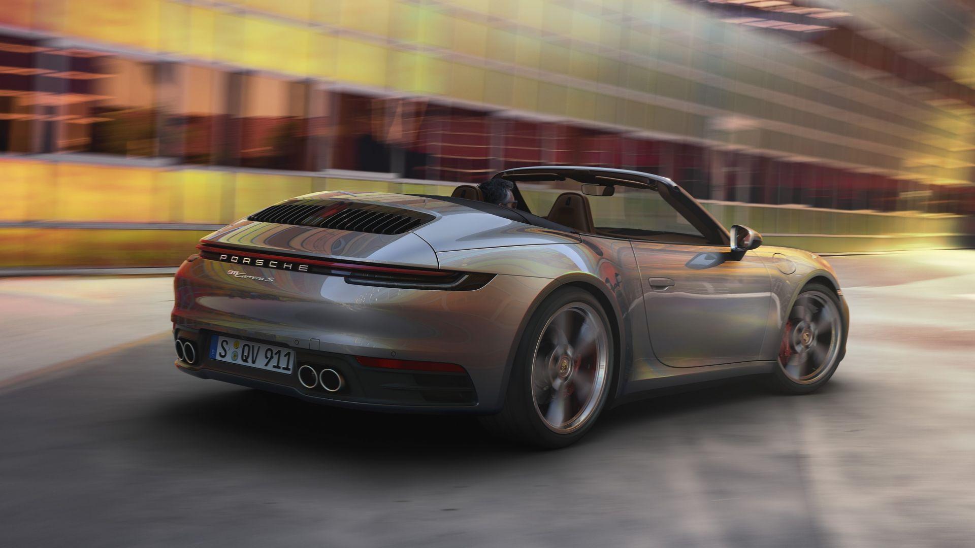 Porsche 911 Turbo >> Nuova Porsche 911 992 Cabrio 2019: prezzi, uscita ...