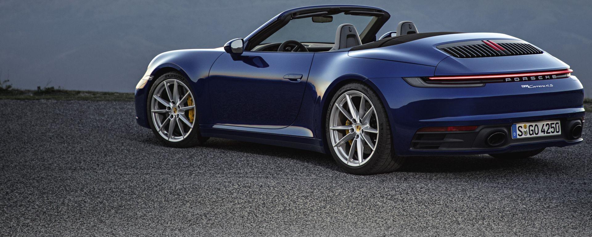Nuova Porsche 911 Cabriolet 2019