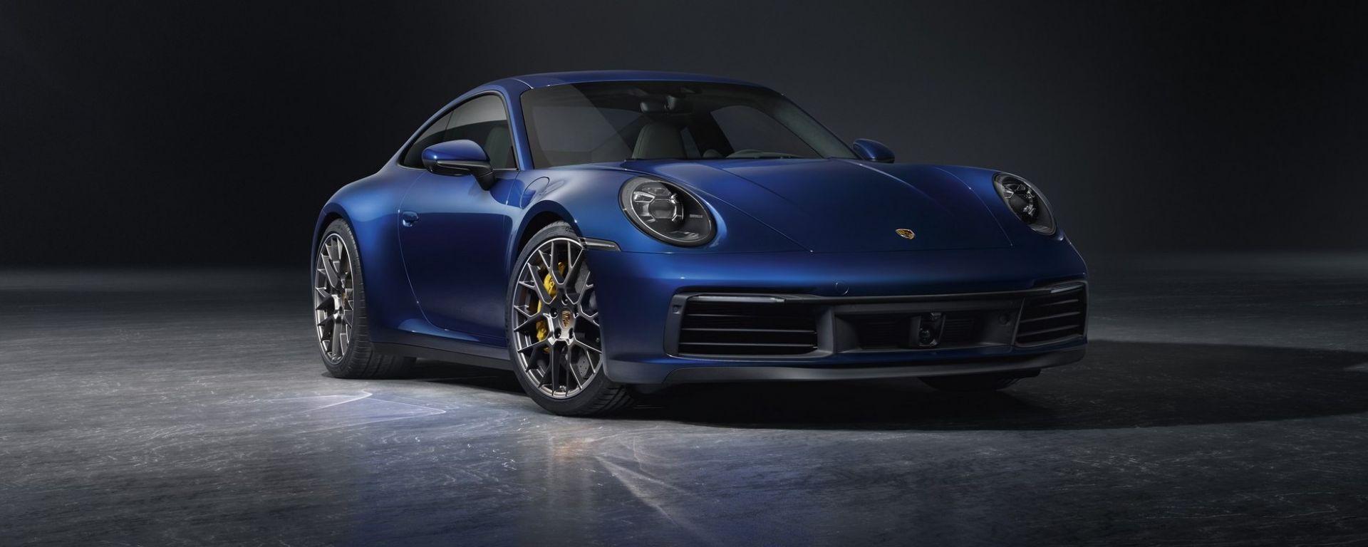 Nuova Porsche 911 Carrera S 2019: com'è e come è fatta