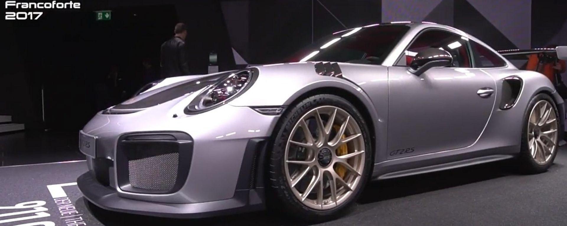 Porsche 911 GT2 RS: a Francoforte la 911 più potente di sempre