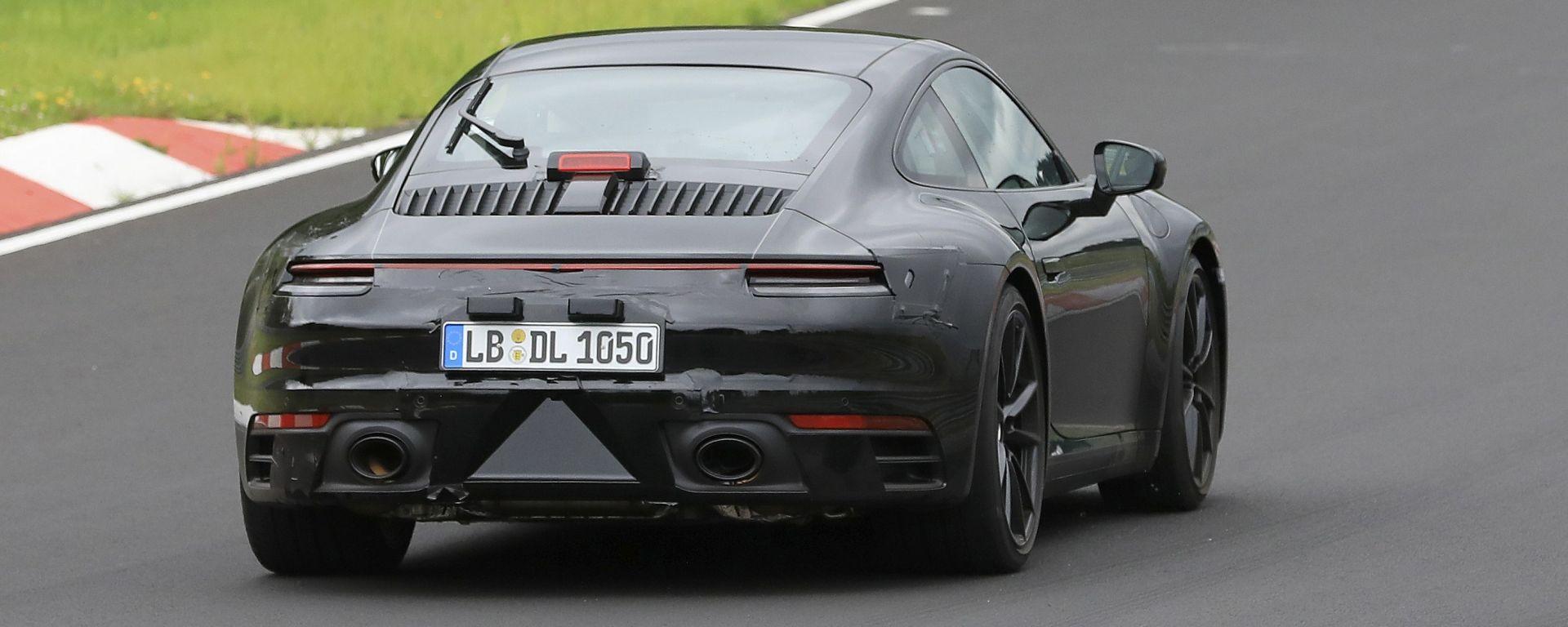 Nuova Porsche 911 GT3 2019: avrà un motore turbo?