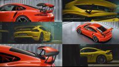 Nuova Porsche 911 GT3 2021: l'immagine pubblicata sul profilo twitter di Porsche