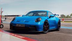 Nuova Porsche 911 GT3 in pit lane
