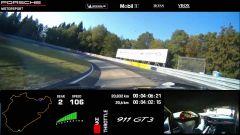 Porsche 911: il video del record al 'Ring