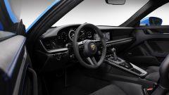 Nuova Porsche 911 GT3: l'abitacolo