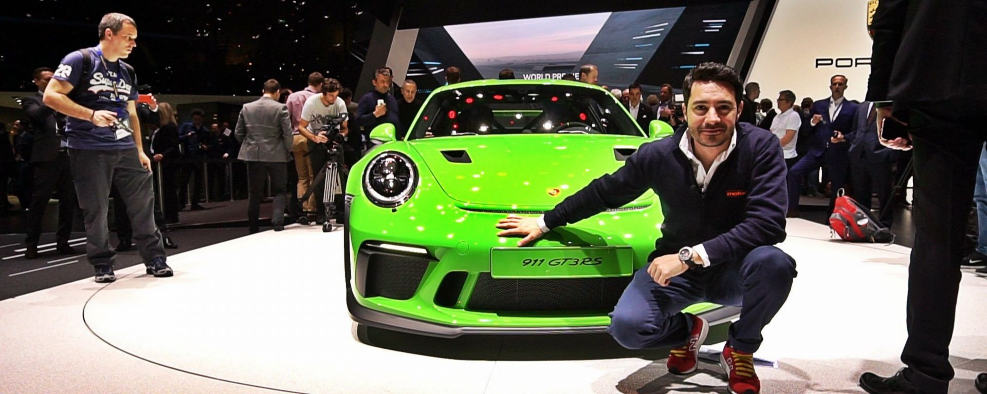 Nuova Porsche 911 GT3 RS: in video dal Salone di Ginevra 2018