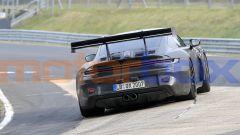 """Nuova Porsche 911 GT3 RS, al 'Ring in formato """"beast mode"""". Le foto spia - Immagine: 8"""