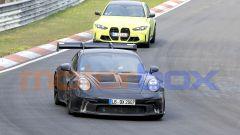 """Nuova Porsche 911 GT3 RS, al 'Ring in formato """"beast mode"""". Le foto spia - Immagine: 10"""