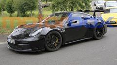 Nuova Porsche 911 GT3 RS: pizzicata nei pressi del Nurburgring