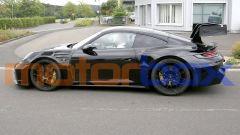 Nuova Porsche 911 GT3 RS: vista di lato