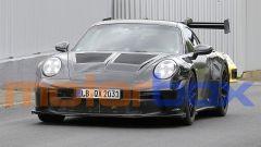 Nuova Porsche 911 GT3 RS: visuale anteriore