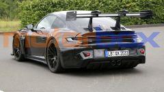 Nuova Porsche 911 GT3 RS: visuale posteriore