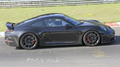 Nuova Porsche 911 GT3 Touring Package, foto spia dal 'Ring