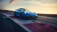 Nuova Porsche 911 GT3: zona rossa dello strumento a 9.000 giri/min