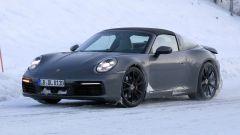 Nuova Porsche 911 targa 2020: la veste è quasi definitiva