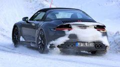 Nuova Porsche 911 targa 2020: lunotto in vetro e tettuccio retraibile elettricamente