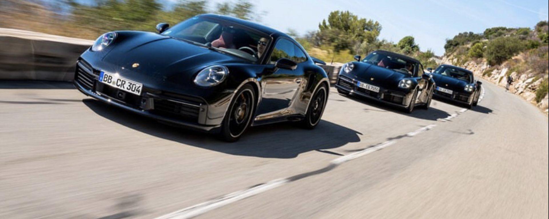 Nuova Porsche 911 Turbo: arriva anche la S da 650 CV