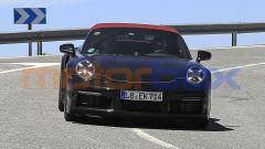 Nuova Porsche 911 Turbo Cabrio 2020: il frontale