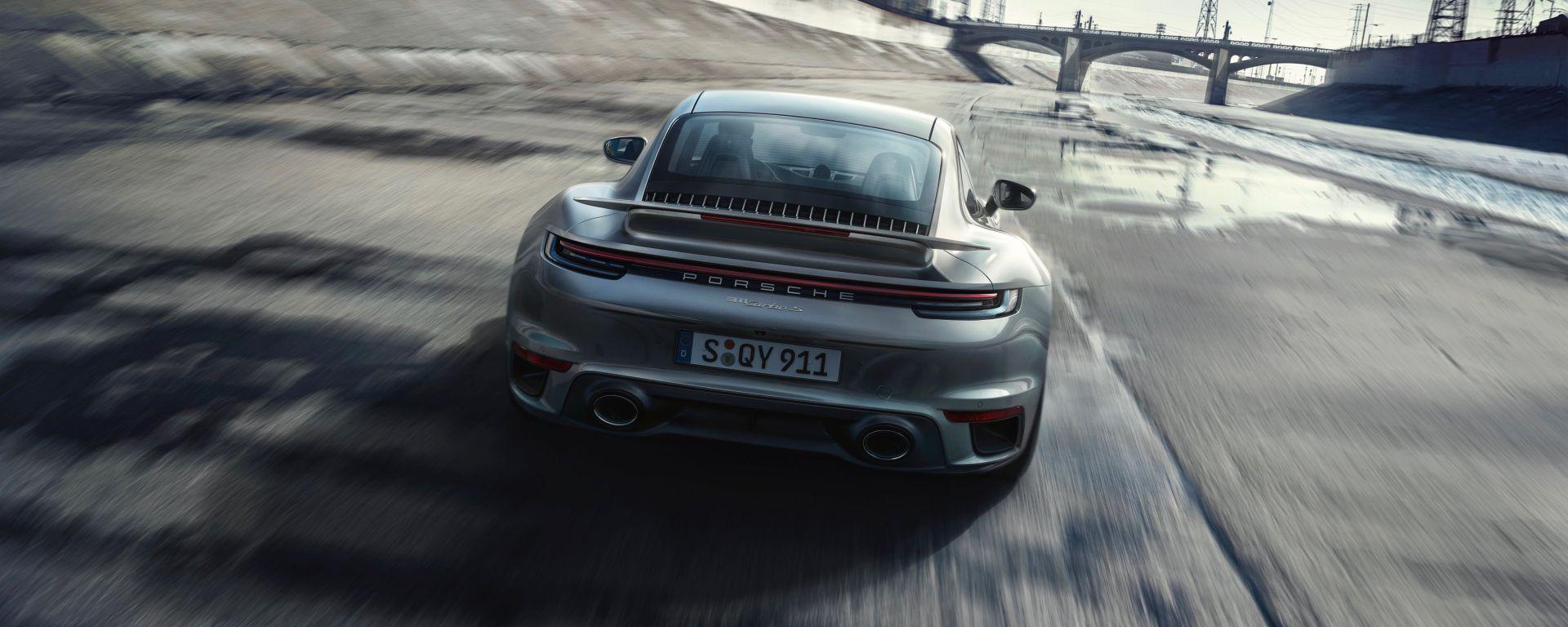 Nuova Porsche 911 Turbo S 2020: potenza ed eleganza