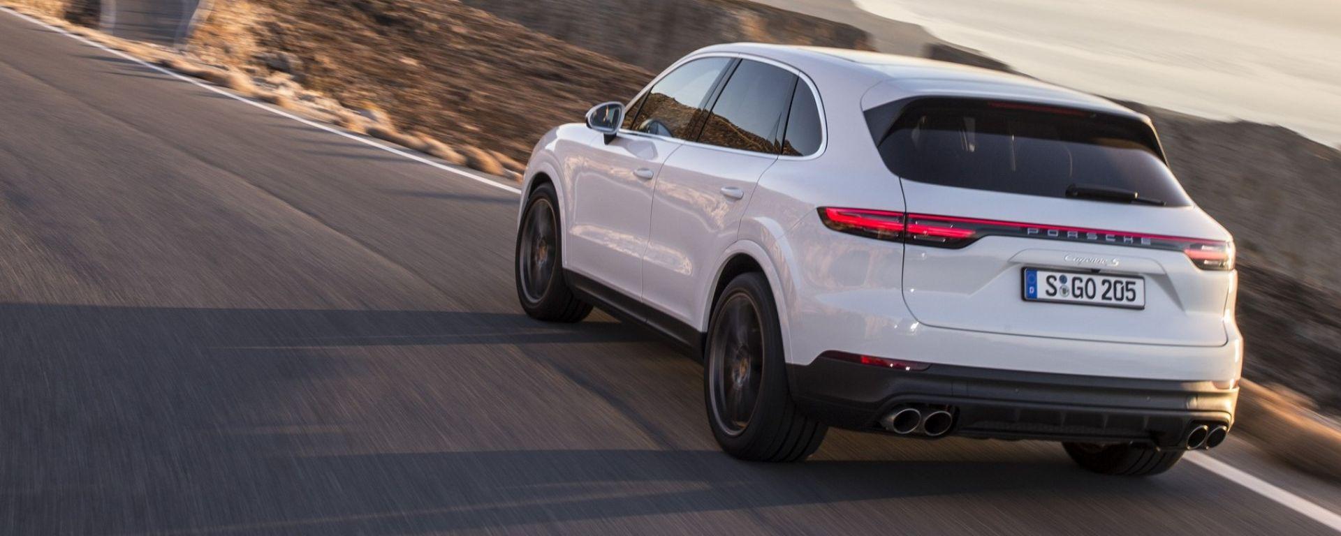 Nuova Porsche Cayenne 2018: la video-prova