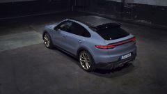 Nuova Porsche Cayenne Turbo GT: visuale dall'alto