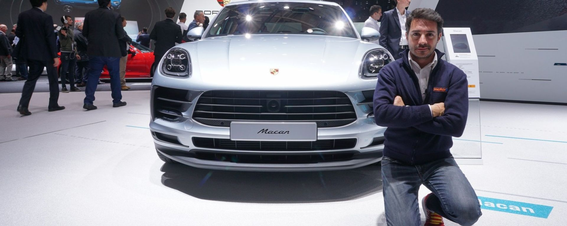 Nuova Porsche Macan 2019 in video da Parigi 2018