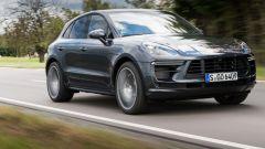 Nuova Porsche Macan elettrica: una versione attuale con motore a combustione