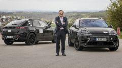 Nuova Porsche Macan EV e Michael Steiner (Ricerca & Sviluppo Porsche AG)