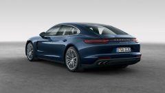 Nuova Porsche Panamera 2017 - Il 3/4 posteriore della 4S Diesel