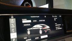 Nuova Porsche Panamera 2017: lo schermo touch da 12.3''