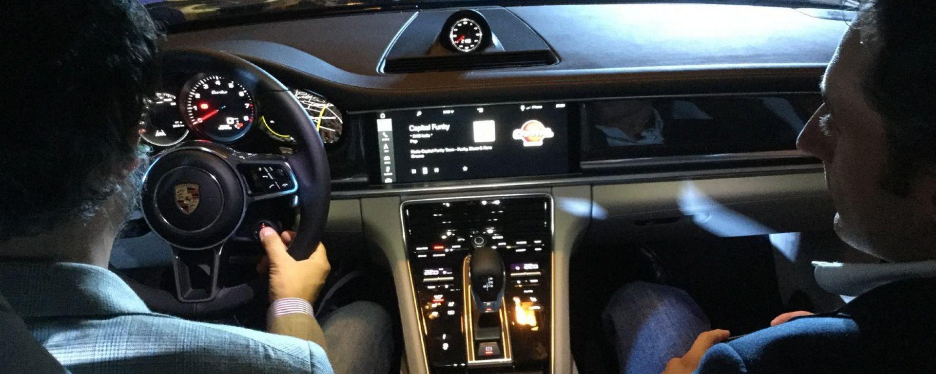 Nuova Porsche Panamera 2017: saltiamoci dentro
