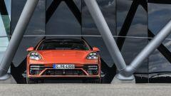 Nuova Porsche Panamera 2021: visuale frontale